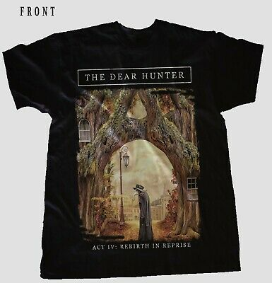 THE DEAR HUNTER-Act IV: Rebirth in Reprise-Art rock,BLACK T_shirt-sizes:S to 6XL