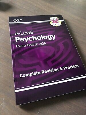 CGP A-Level Psychology AQA Revision Textbook