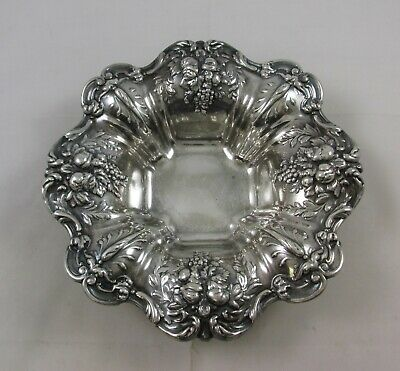 Large Francis I By Reed & Barton Sterling Silver Candy/Nut Dish X569 No Monogram