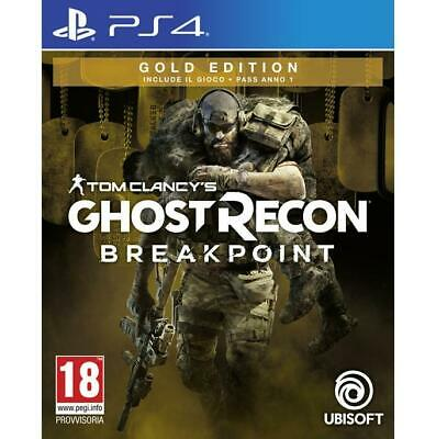 Tom Clancy's Ghost Recon Breakpoint Gold Edition PS4 PlayStation 4