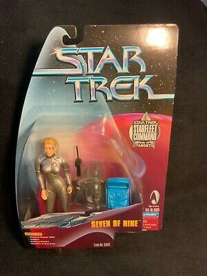 Star Trek Voyager Seven Of Nine Starfleet Command Target Playmates