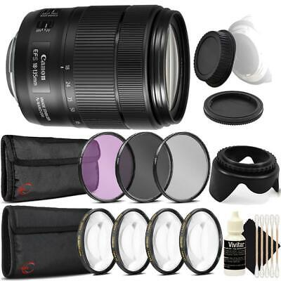 Canon EF-S 18-135mm f/3.5-5.6 IS USM Lens and Accessories for Canon DSLR Cameras
