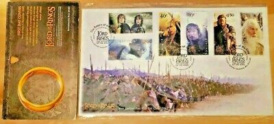 2003 Lord Of The Rings New Zealand Post (FDC) Special Set still FACTORY SEALED!!