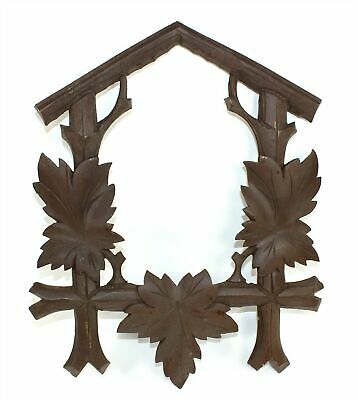 """CUCKOO CLOCK CASE FRONT FRAME 13-7/8"""" TALL and 11-1/4"""" WIDE - GG85"""