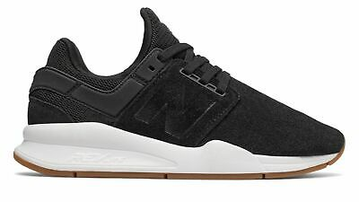 New Balance Women's 247 Shoes Black with White