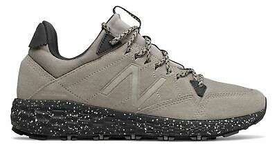 New Balance Men's Fresh Foam Crag Trail Shoes Grey with Black
