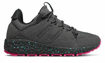 New Balance Women's Fresh Foam Crag Trail Shoes Grey with Pink