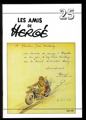 Hergé Tintin the Amis of Hergé No No 25 June 1997 Perfect Condition