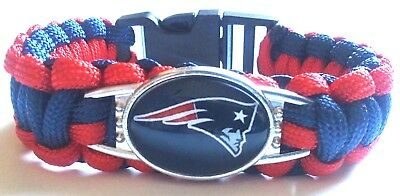 New England Patriots NFL Football Paracord AFC EAST Bracelet Wristband Playoffs