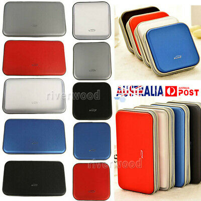 40/80 CD DVD Carry Case Disc Storage Holder CD Sleeve Wallet Ideal for In Car
