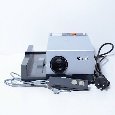 ROLLEI P350A Slide Projector, 85mm f/2.8 Lens, AU Works Great!, READ Fungus