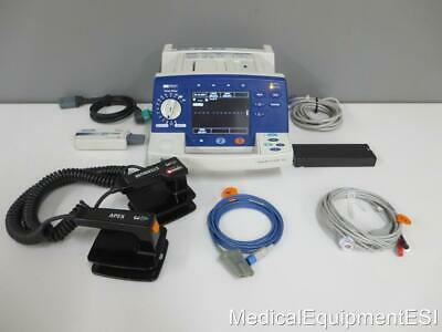 Philips Heartstart XL Biphasic 3 Lead SP02 AED PACING Paddles