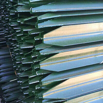 Star Picket Green Star Post Steel Fence Post Fencing Star Picket Green 1700mm