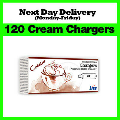 120 Nitrous Oxide Cream Chargers / Canisters 8g N2O NOS NOZ - Best Price on eBay