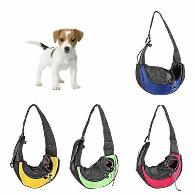 Portable Pet Dog Cat Puppy Carrier Travel Single Shoulder Sling Cage Bag Gifts