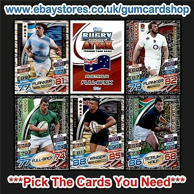 Topps Rugby Attax 2015 (1 to 99) *Please Choose Cards*