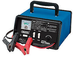 Draper 12 / 24V 10.3A Lead Acid Battery Starter / Charger / Booster - 20493