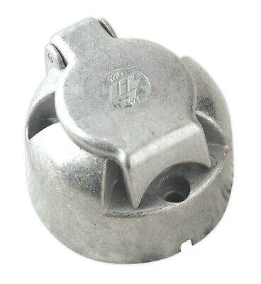 Sealey Tb08 Towing Socket N-Type Metal 12V
