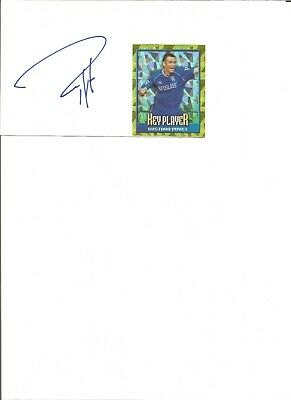 Gus Poyet 6x4 inch autograph piece, former football player   EL406
