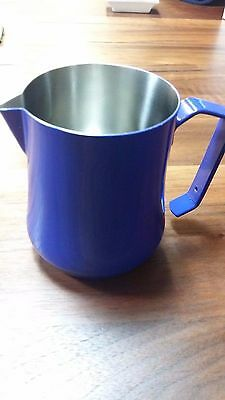 MOTTA MILK PITCHER 50 CL STAINLESS STEEL BLUE !!! MADE in ITALY