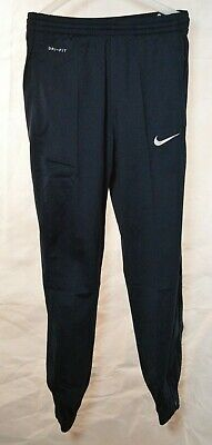 Boys Nike Dri Fit Tracksuit Joggers Bottoms Blue UK Size Age 8-10 Years
