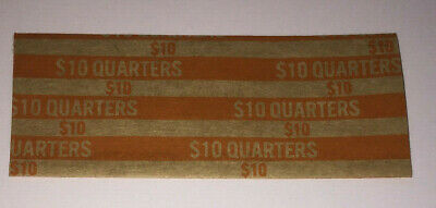 20 US Flat Quarter Coin Wrappers