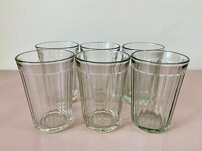 Set of 6 USSR Soviet Faceted Glasses Vodka or Tea and Juice, Granenniy Stakan