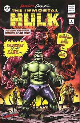 Nycc 2019 Absolute Carnage Immortal Hulk 1 Mico Suayan Variant Nm