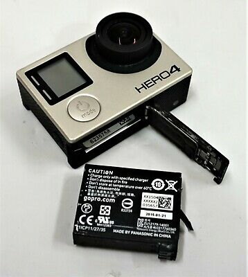 GoPro Hero 4 Black Edition 4K Action Camera Camcorder CHDHX-401 - Free Shipping!