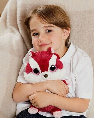 Yoohoo Red Squirrel Hottie Soft Toy Teddy Warmies Microwavable Warmer Sleep Aid