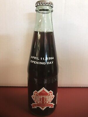 Texas Rangers The Ballpark in Arlington Dr. Pepper Commemorative Bottle 1994