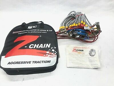 Titan Diagonal Cable Tire Chains Snow or Ice Covered Roads 10.98mm 275//55-20