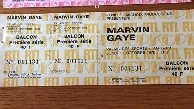 Tickets Collector Marvin Gaye