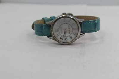 Ecclissi 925 Sterling Silver Round Women Watch New Battery MOP Dial