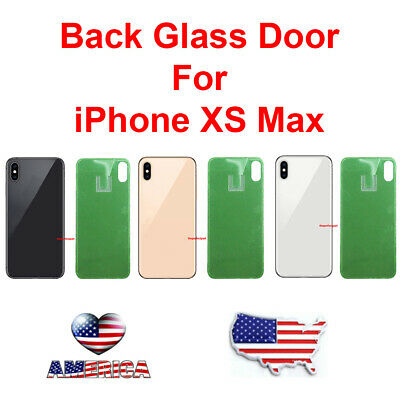 OEM New Battery Cover Glass Housing Rear Back Door Replacement For iPhone XS Max