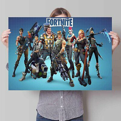 52Fortnite37 Custom Personalized Art Print Poster Wall Decor