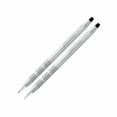 Cross® Classic® Century® Pen And Pencil Set, Satin Chrome