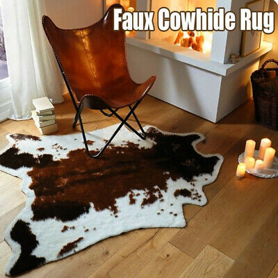Surprising Cow Print Rug Cowhide Soft Carpet Size 29 X 43 110 X 75 Cm Gmtry Best Dining Table And Chair Ideas Images Gmtryco