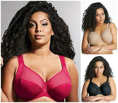 Goddess Heather Full Cup Bra Underwired Non Padded 6060 New Lingerie