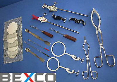 Brand BEXCO CLAMPS BEAKER CRUCIBLE Tong Test Tube Holder Spatula DHL Ship