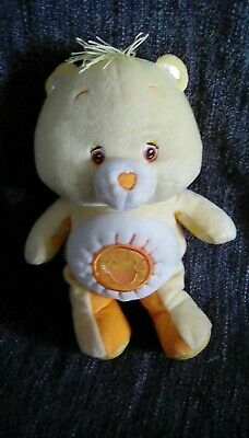 Care Bear teddy Yellow plush soft Toy Baby Toy   Funshine Sunshine