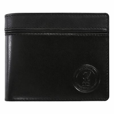Liverpool FC UCL 6 Stars Leather Wallet & Keyring Set LFC Official