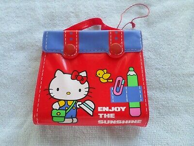 Vintage 1976 - Hello Kitty - Coin Purse / Wallet - Enjoy The Sunshine