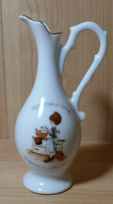 Vintage Holly Hobbie Small  Porcelain Jug 1974 Designer's Collection