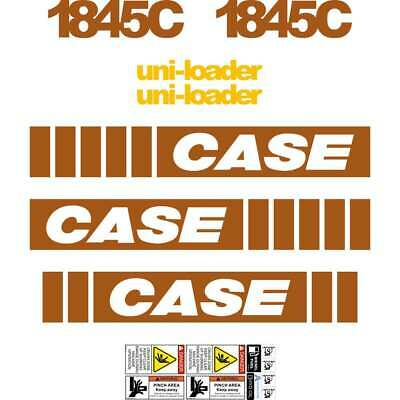 1845C Early SERIES Case Decals Case Uniloader Stickers Kit Repro Set