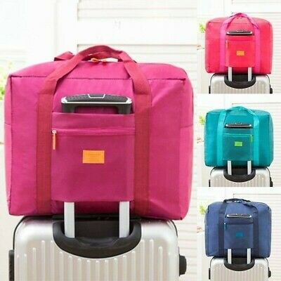 Luggage Baggage Storage Carry-On Duffle Bags Portable Waterproof Foldable Travel
