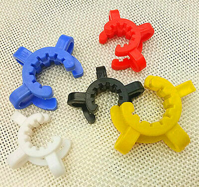 set of Plastic Keck Clip Color Plastic Keck Laboratory Lab Clamp Clip Joint 14mm