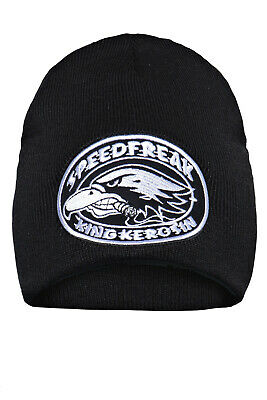 King Kerosin Speedfreak Strickmütze Biker Style Mütze Beanie Stick warm Neu