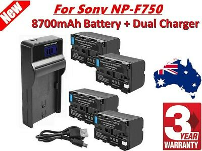 NP-F970 Camera Battery Charger LCD for SONY NP-F550 F750 F950 FM50 H1S4 AUSSIE