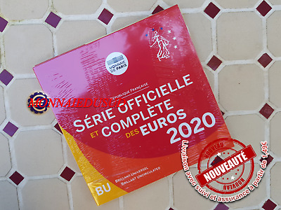 Coffret BU 1 Cent à 2 Euro France 2020 - Coffret Officiel